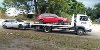 Av Brasil Remoção  de 2 veículos